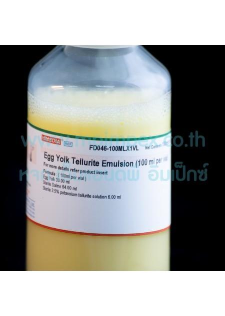 Egg Yolk Tellurite Emulsion...